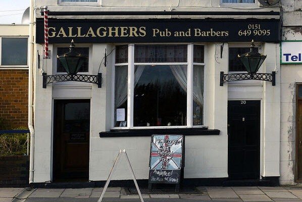 gallaghers pub barbers