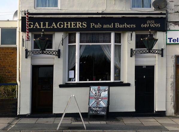 gallaghers pub barbers