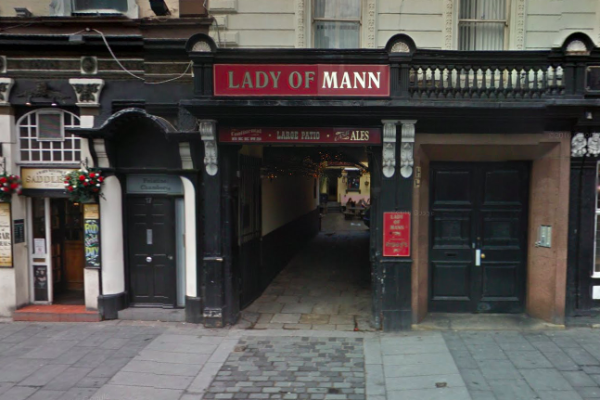 Lady of Mann Liverpool pub