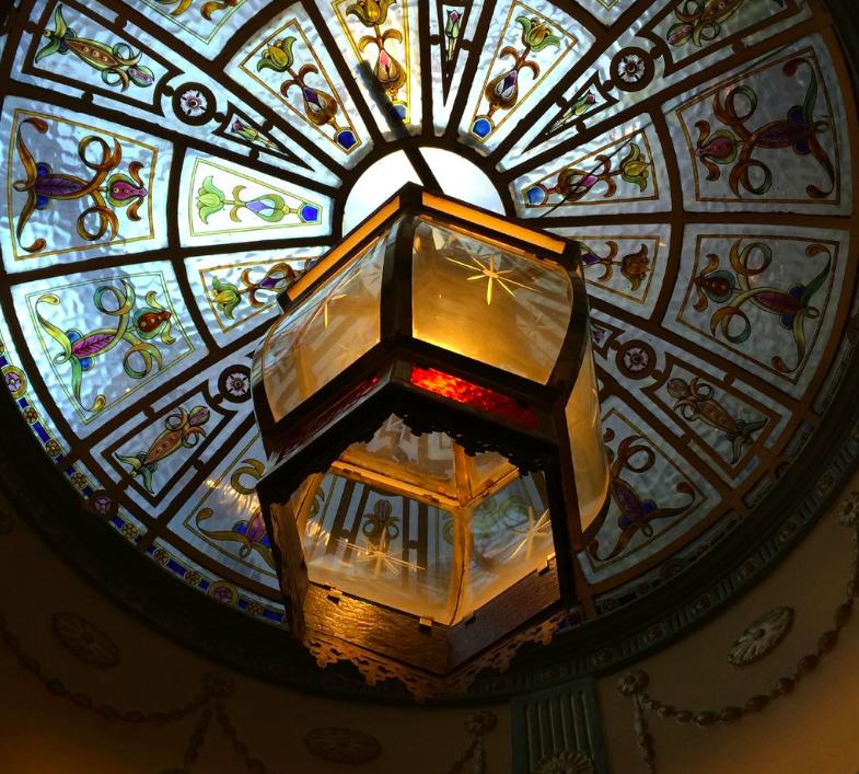 lion tavern ceiling