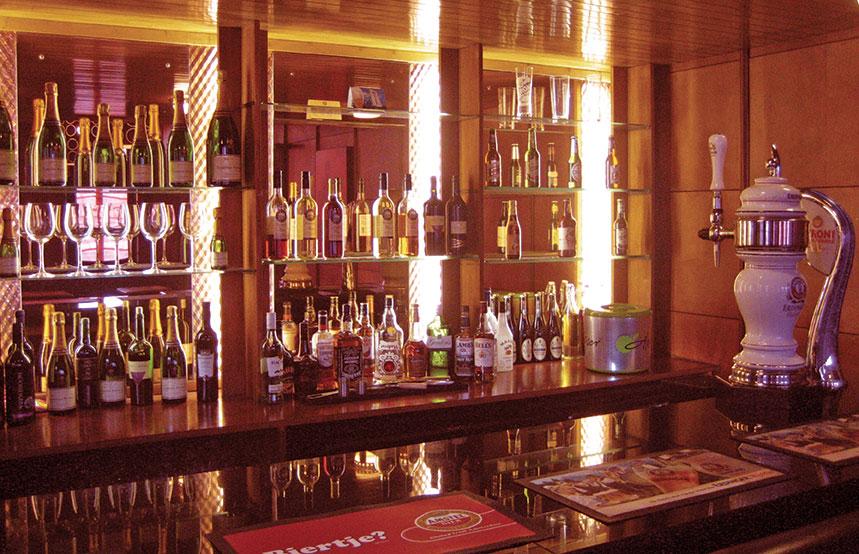 Ship and Mitre bar