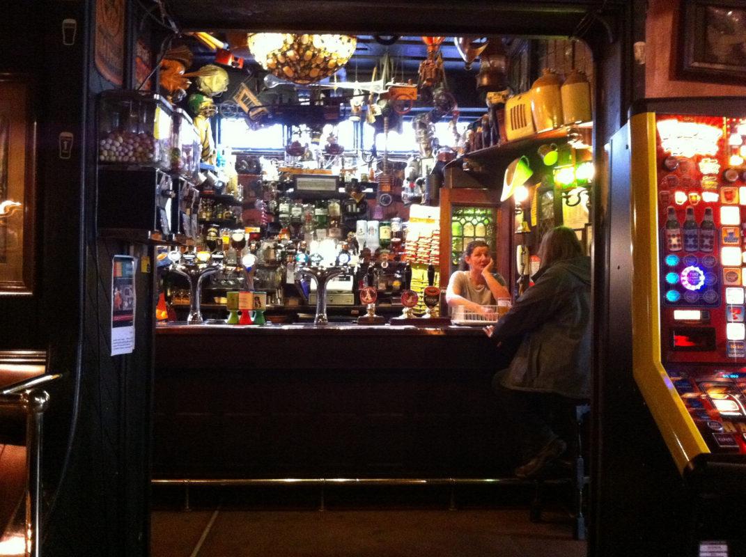 Peter Kavanagh's bar