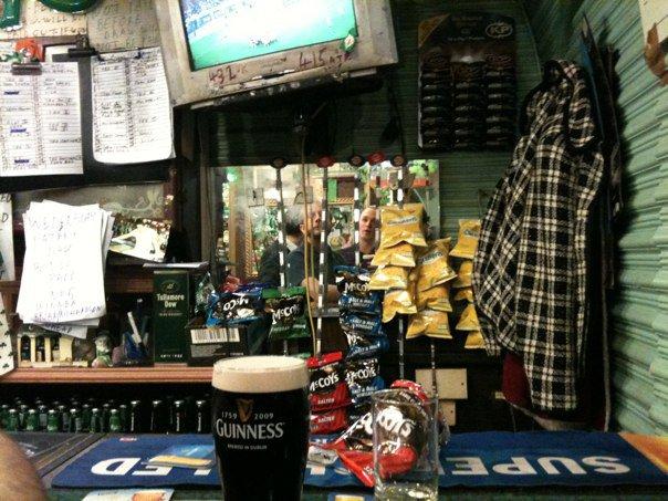 Paddy's Bar interior London Road