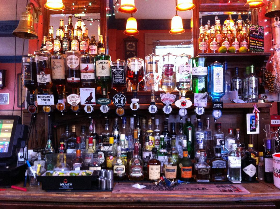 The Grapes Liverpool pub