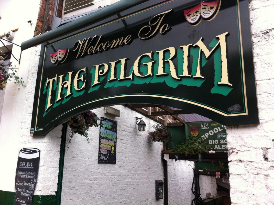The Pilgrim Liverpool pub