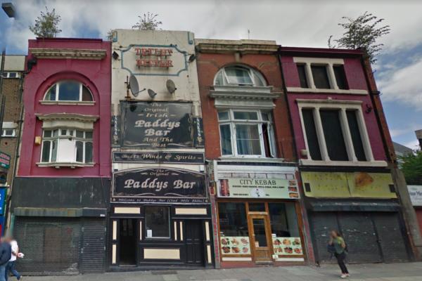 Paddy's Bar London Road,Liverpool