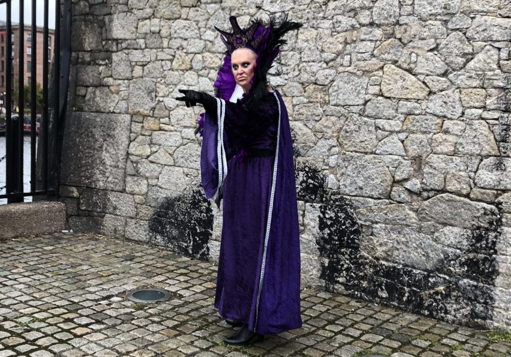 Kim Woodburn as the Wicked Witch