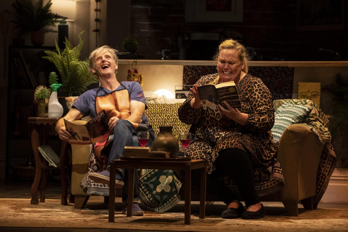Production photographs full dress rehearsal for Ellen & Rigby at the Royal Court Theatre, Liverpool. Pictures Jason Roberts